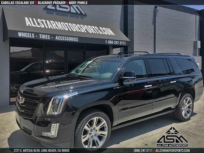 Cadillac Escalade Blackout Package - Body Panels