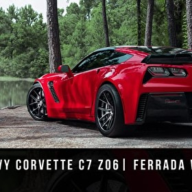 Corvette C7 Z06 / Z07 Package | Ferrada Wheels FR2 Black