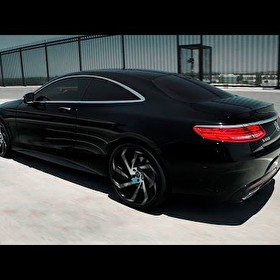 "Mercedes Benz S550 4MATIC Coupe 22"" Lexani Wheels"