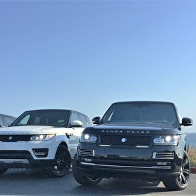 STRUT | Range Rovers Equipped with STRUT Grille Kits and LED Lights