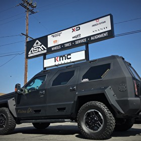 Custom USSV Rhino GX Utility Vehicle - Badass!