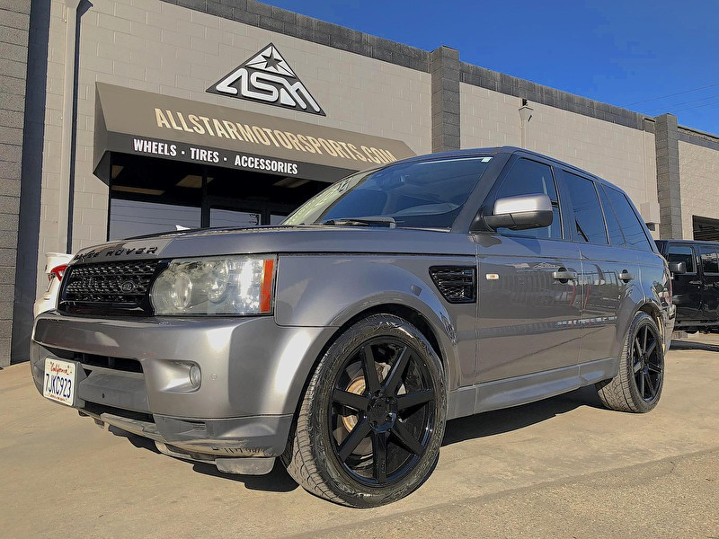 Range Rover Sport | Blackout Package | Niche Wheels Verona 20x9 Black Powder Coat Wheels