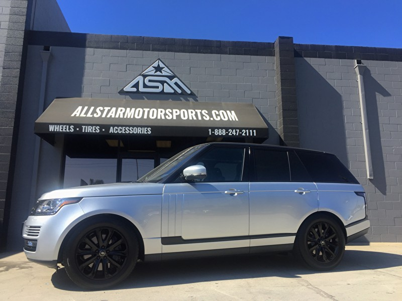 Maserati Anaheim Hills >> Silver Land Rover Range Rover | Custom Blackout Package | Grille, Wheels, Side Trim - Call Today ...