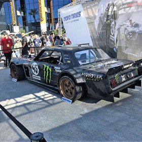 Ken Block Custom Built Ford Mustang at SEMA 2016